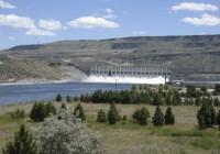 The Columbia river and Chief Joseph Dam near Bridgeport.