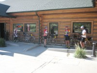 Checkpoint #12 in the town of Rustic.
