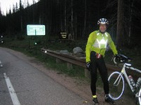 Myself at Cameron Pass, morning of day 4.