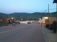 Dawn on day 2 going through Yampa