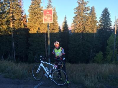 Dawn at Guardsman Pass, at the top of Big Cottonwood Canyon.