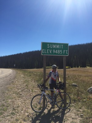 Wolf Creek summit. Climb number two done!
