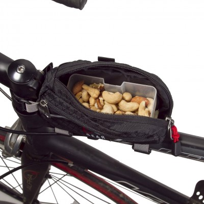 eoGEAR Fuel Box holds mixed nuts or six fig newtons perfectly.