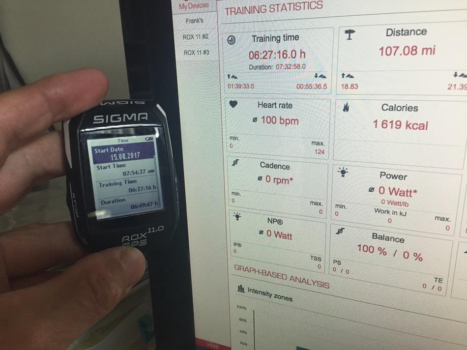 Sigma ROX 11 0 GPS Cycling Computer Review   Rando Richard